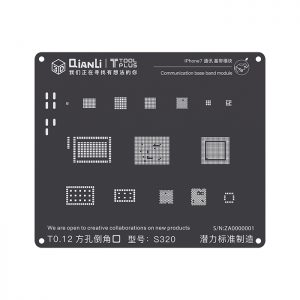 Stencil 2D iPhone 7 QIANLI Base Band S320